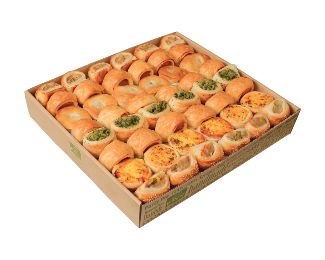 Classic Hot Pastry Platter